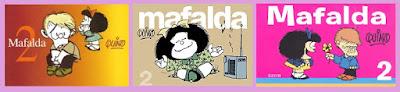 portadas del cómic Mafalda, de Quino