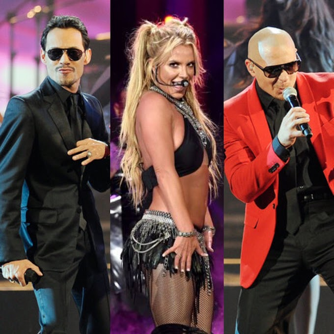Pitbull Reveals He's Collaborating With Britney Spears And Marc Anthony On New Track
