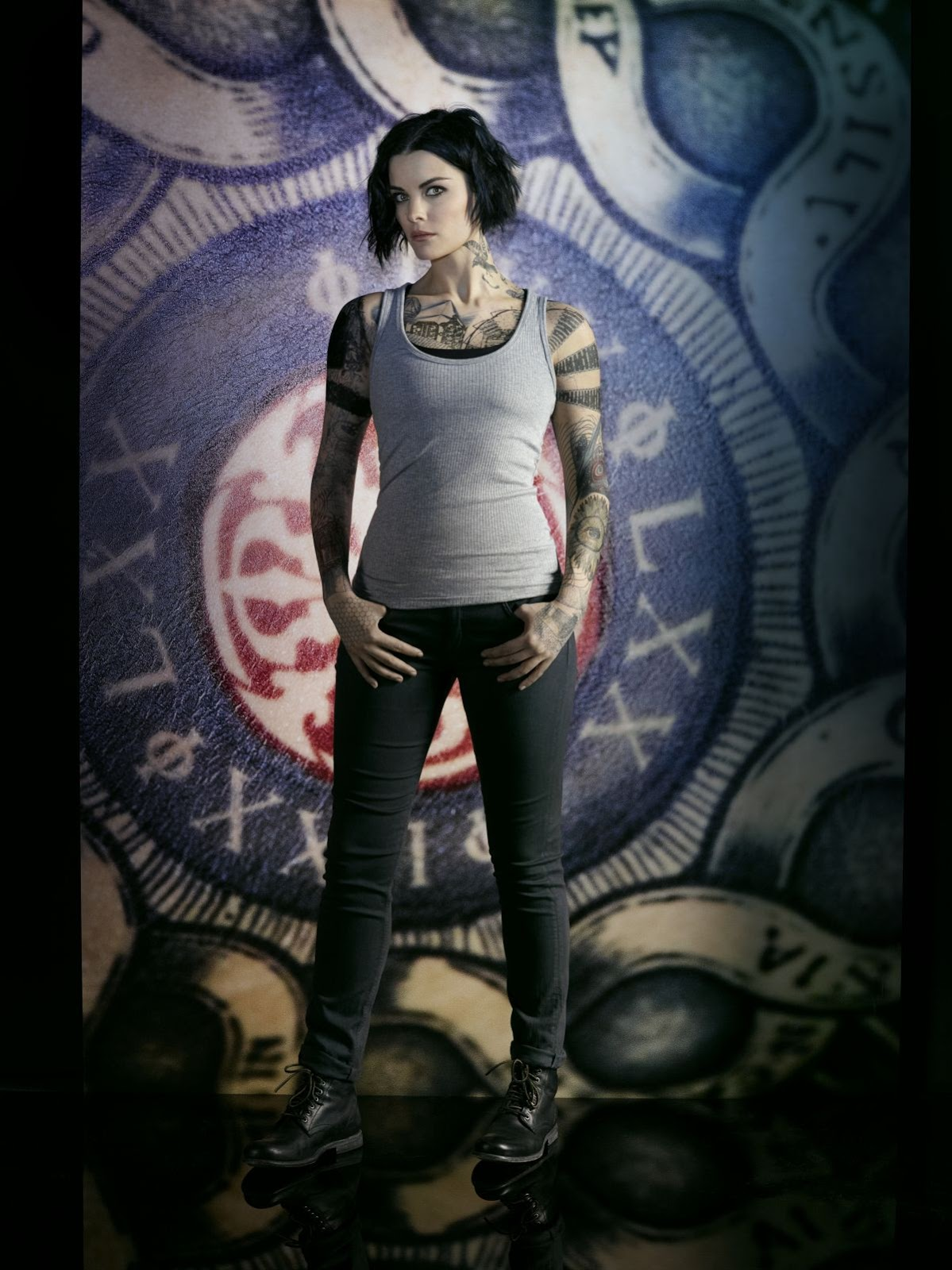 HQ Hot & Sexy Wallpapers of Marvel Comics Actress Jaimie Alexander Blindspot Season 2 Promos