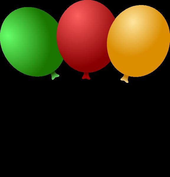 new years balloons clip art - photo #31
