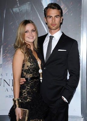 Theo James and Ruth Kearney