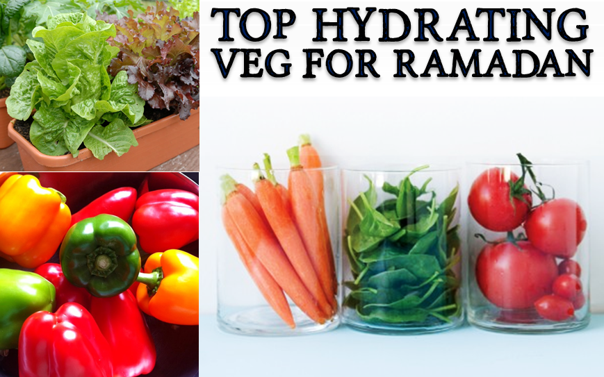 Top 10 Hydrating Vegetables For A Ramadan Summer