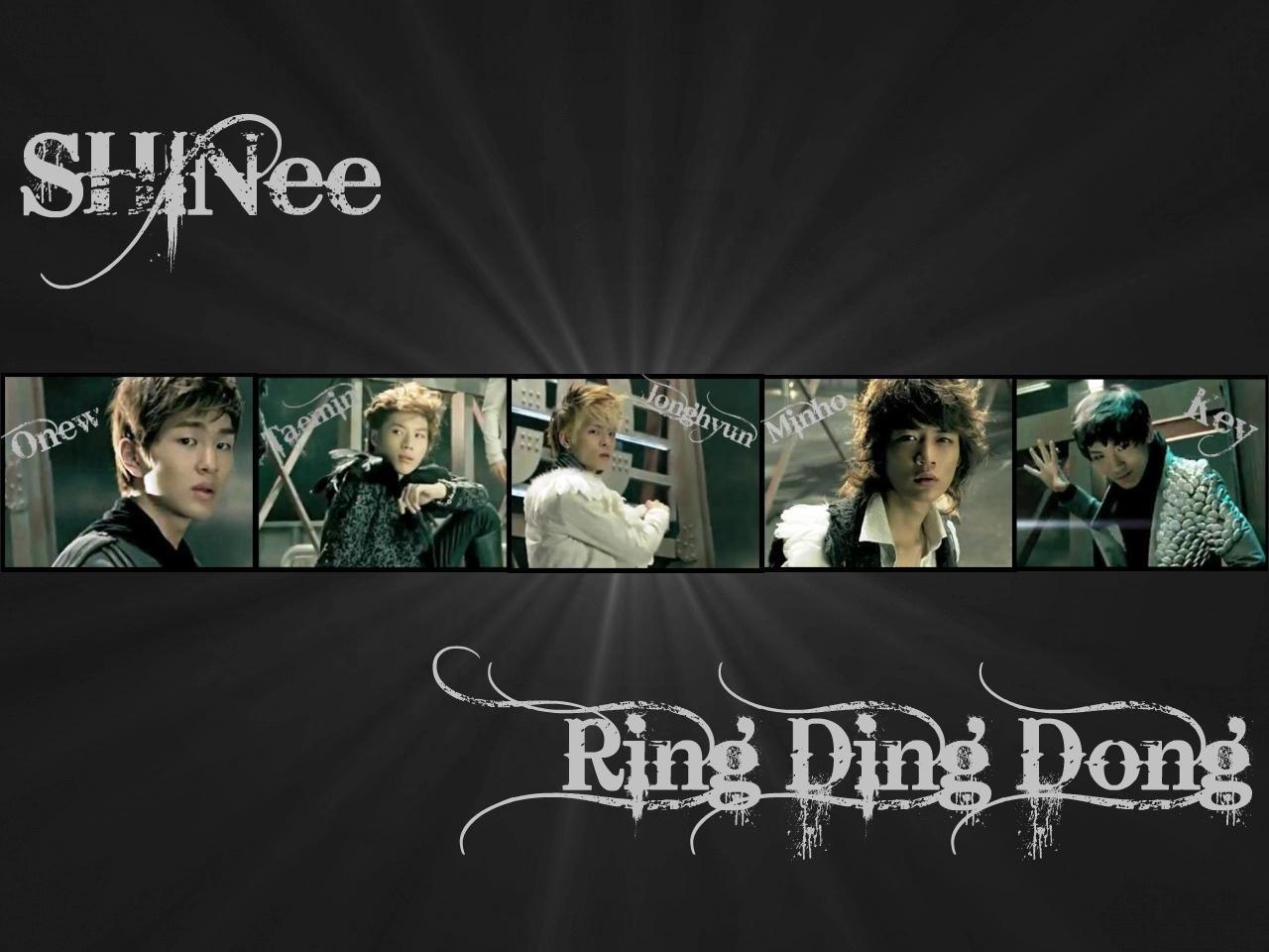 Monchan Worlds: [LIRIK] Ring Ding Dong By. SHINee (Rom ...
