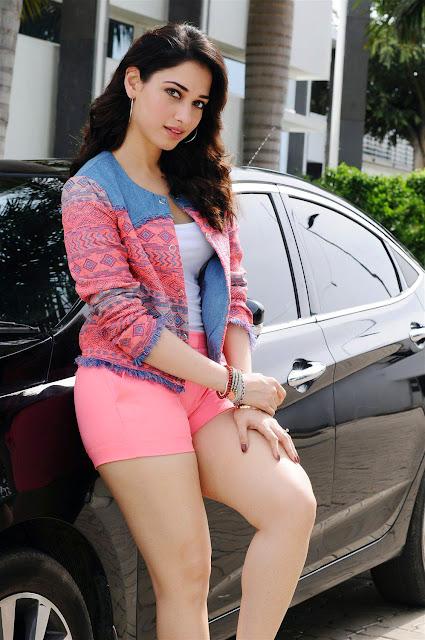 Cute Tamanna Bhatia Hot Pics Showing Her Hot Thighs