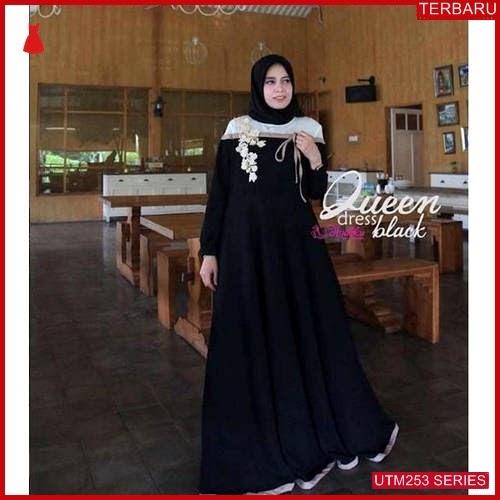 UTM253Q58 Baju Queen Muslim Dress Dewasa Mo UTM253Q58 0FD | Terbaru BMGShop