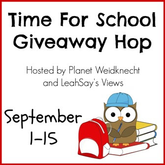 Time For School Giveaway Hop