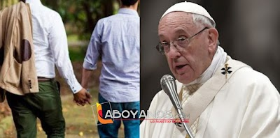 Quien rechaza a los homosexuales no tiene corazón humano: Papa Francisco