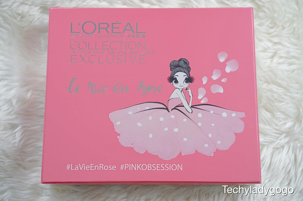 เปิดกล่อง swatch สี LOREAL La Vie En Rose คอลเลคชั่นหวานรับเทศกาลแห่งความรัก ลอรีอัล ปารีส