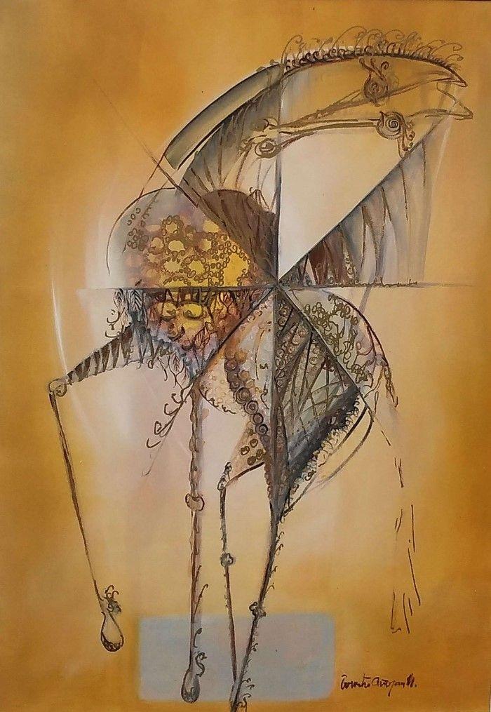 Сербский художник. Stojan Bozic