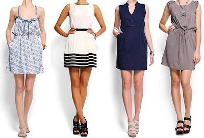 vestidos para esta primavera verano 2012 casuales