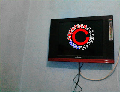 Cara memasang tv di tembok tanpa Bracket