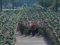 Presiden Minta Prajurit Kostrad  Mewaspadai Ancaman yang Dapat Memecah Belah Bangsa