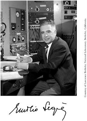 Σαν σήμερα … 1905, γεννήθηκε ο Emilio Segrè.