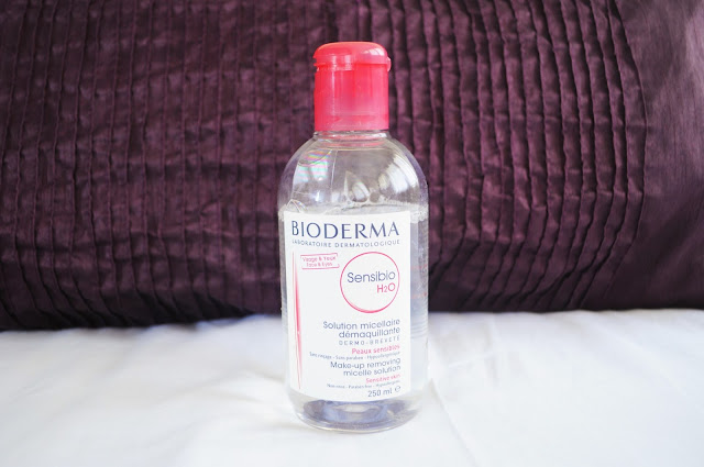 current beauty favorites Bioderma Micellaire Water