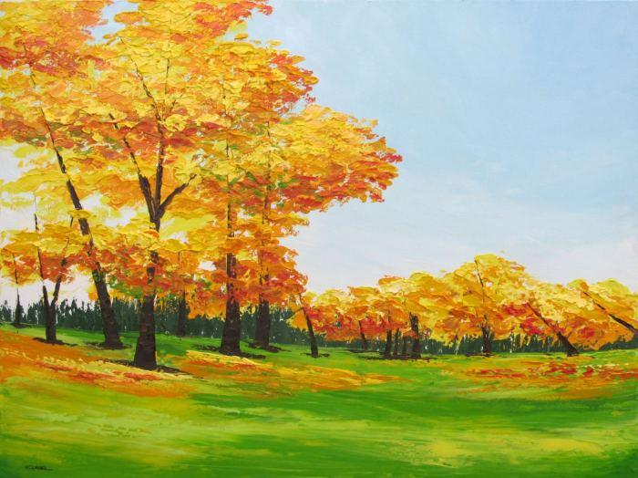 Пейзаж - мое вдохновение. Eileen Lunecke
