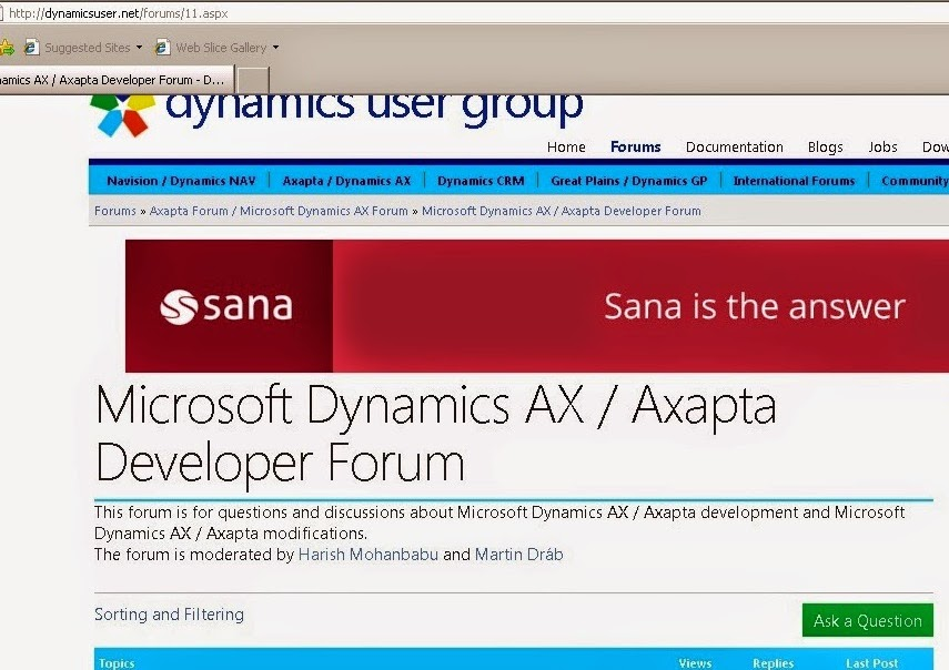 Microsoft Dynamics Axapta TechnicalFunctional Coverage