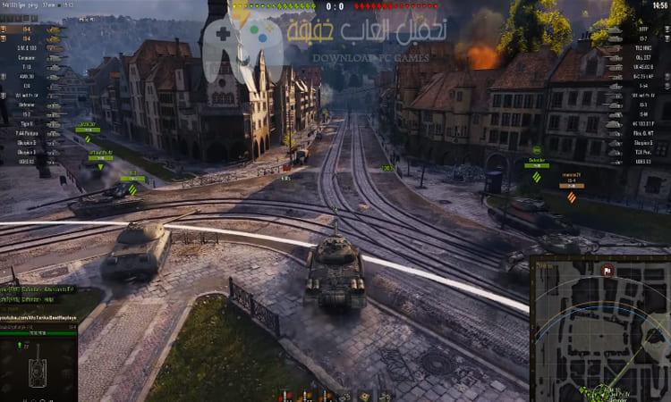 تحميل لعبة World of tanks blitz برابط مباشر