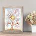 Enchanted Tree Watercolor Painting
