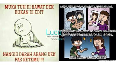10 Meme 'Muka Itu Dirawat Bukan Diedit' Ini Kocak Banget, Menohok Sampai Keakar-akarnya!