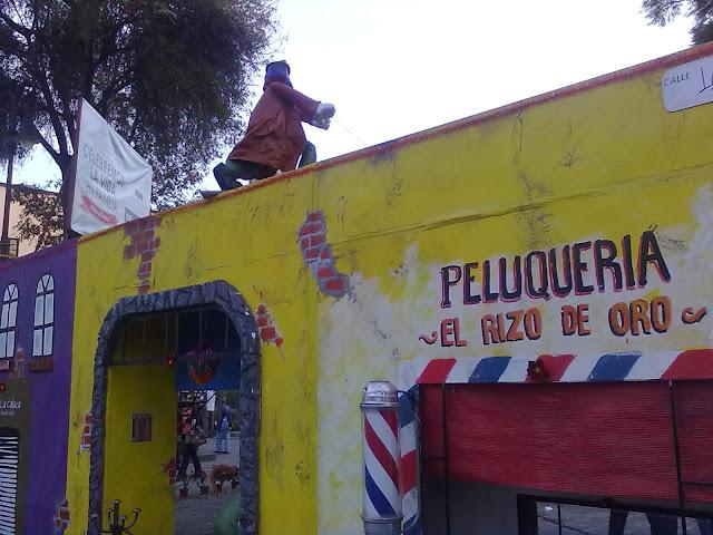 Navidad en Coyoacán con la Familia Burrón de Gabriel Vargas