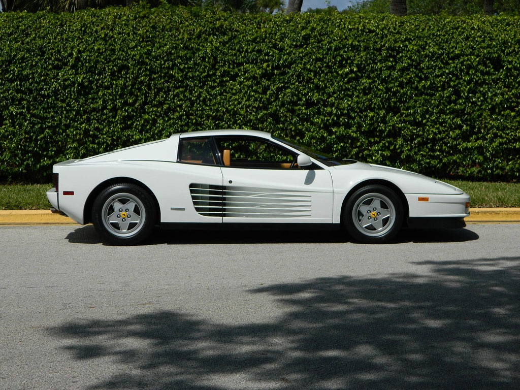 Ferrari F40 For Sale >> The Real Wolf Of Wall Street's White Ferrari Testarossa ...