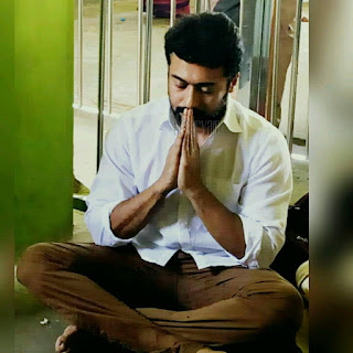 Surya at temple pics