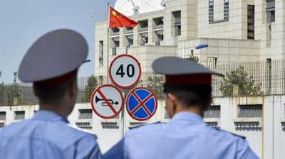 Kyrgyzstan Tuding Militan Uighur Pelaku Serangan Kedutaan China