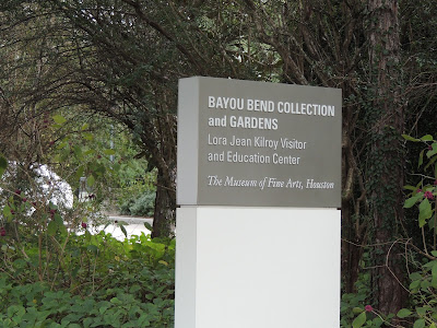 Bayou Bend Collections and Gardens (signage) MFAH