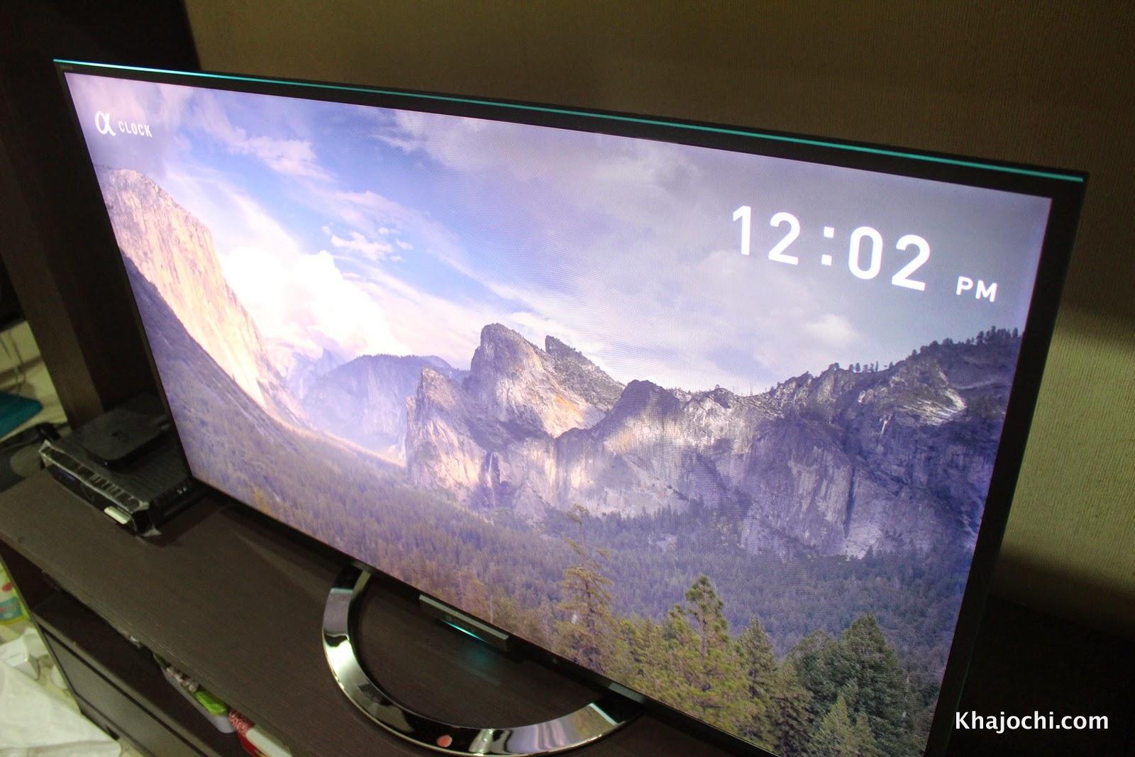 รีวิว: TV Sony Bravia W904A จอคม, ภาพ 3 มิติ, รองรับทีวีดิจิตอล
