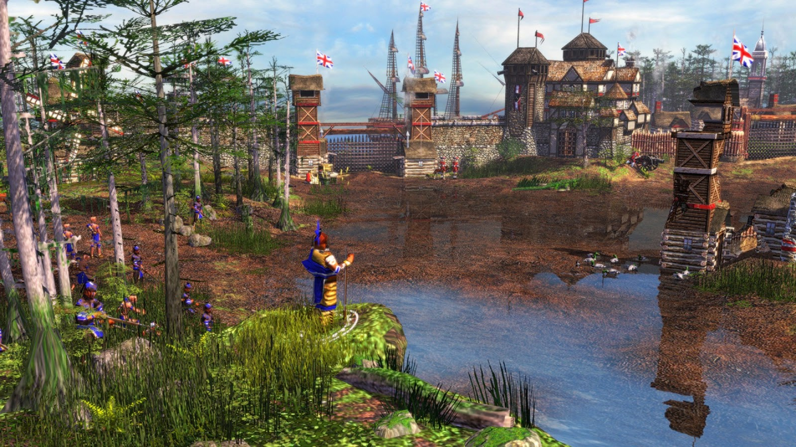 esocommunity age of empires iii tournaments replays - HD1600×900