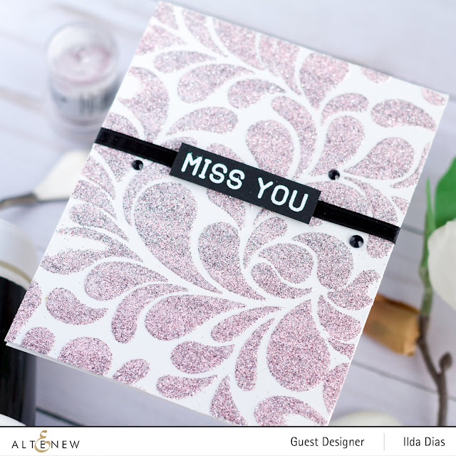 Altenew Washi Tape/Embossing Paste Release Blog Hop Inspiration by ilovedoingallthingscrafty.com