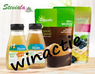 Doe mee met deze leuke winactie  en win dit Steviala pakket!