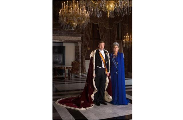 Koos Breukel: Koning Willem Alexander en koningin Maxima, 2013
