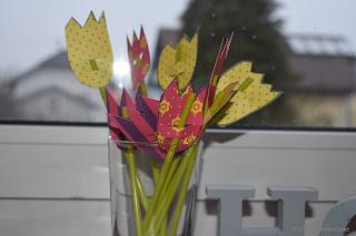 Tulpenstrauß basteln
