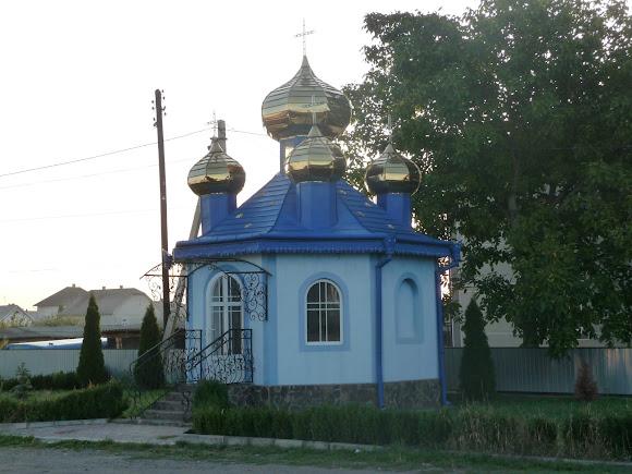 Маршинці. Каплиця на розі вулиць Центральній і Свято-Миколаївський