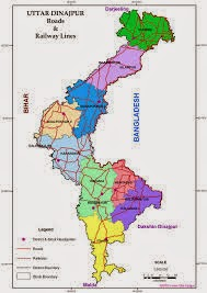 Uttar Dinajpur Map