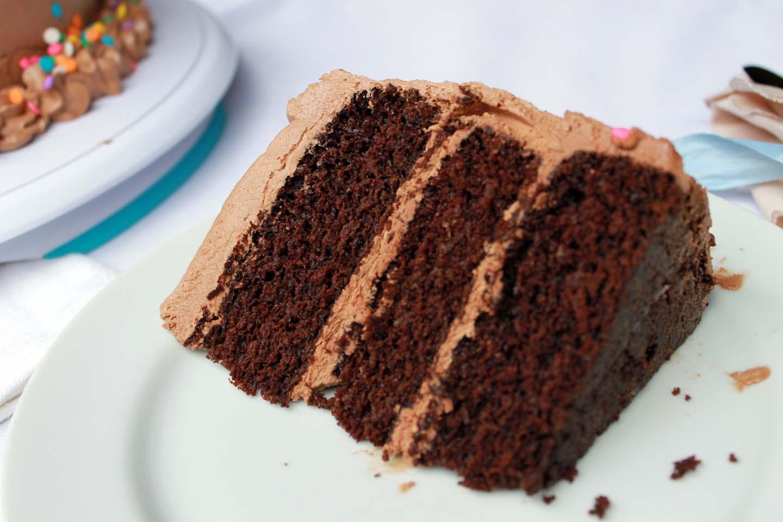Bolo de Chocolate de Aniversário
