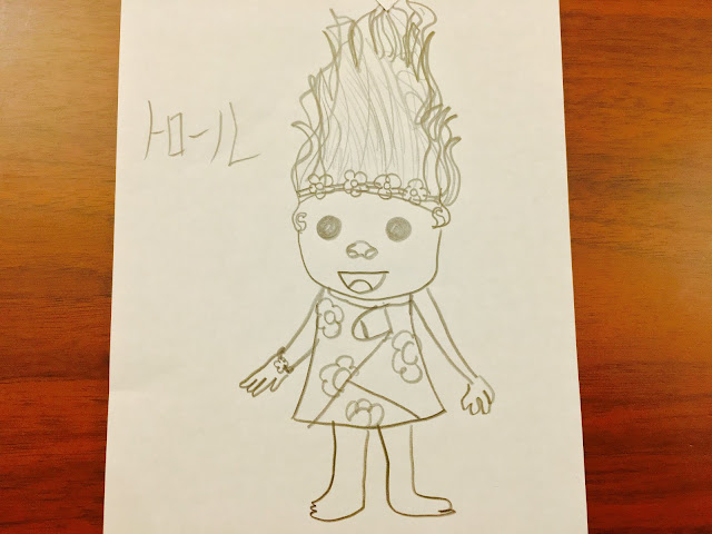 Nina Drawing Trolls|Shoichi Design