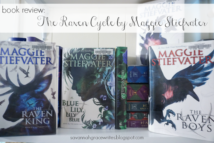 Book Review - The Raven Cycle by Maggie Stiefvater [post title image]