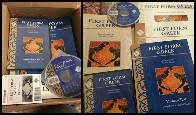 Review of Memoria Press First Form Greek