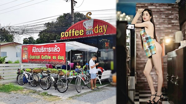 Thái Lan : Quán cafe cho nhân viên khỏa thân phục phụ gây bão cộng đồng mạng