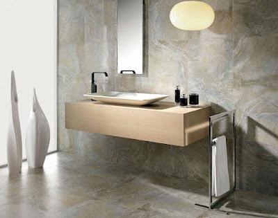 El mármol es un material clásico que es preferido por su vistosidad y durabilidad.