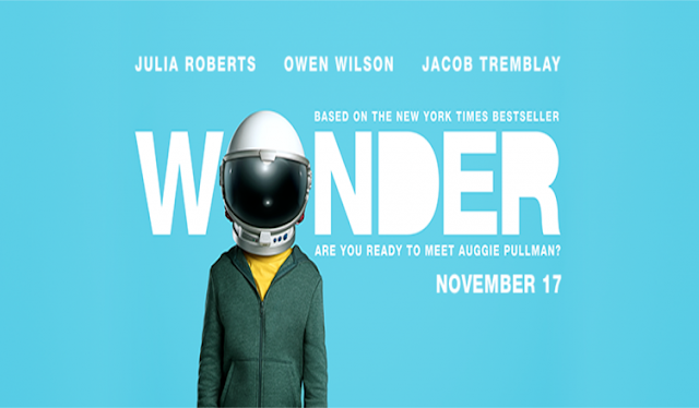 WONDER the movie in theaters November 17, 2017 #ad