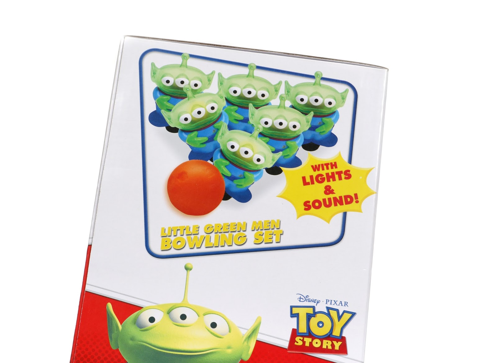 toy story disney parks alien bowling set
