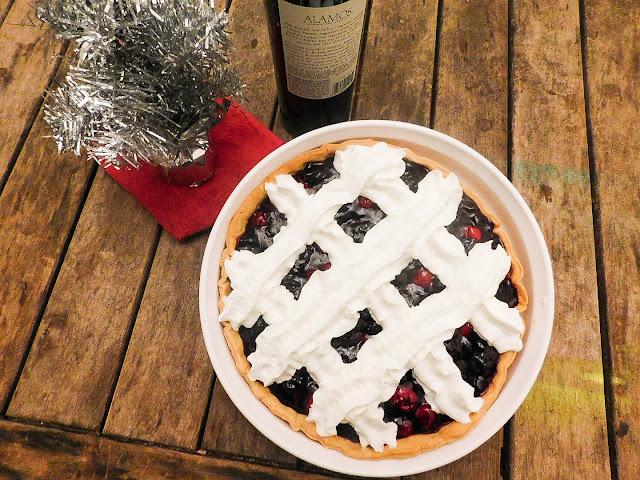 Cranberry Merlot Pie
