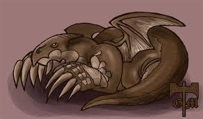 Dragón Ocre por Aedel