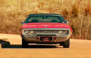 1972 Plymouth Satellite Sebring 318 Front Face Angle