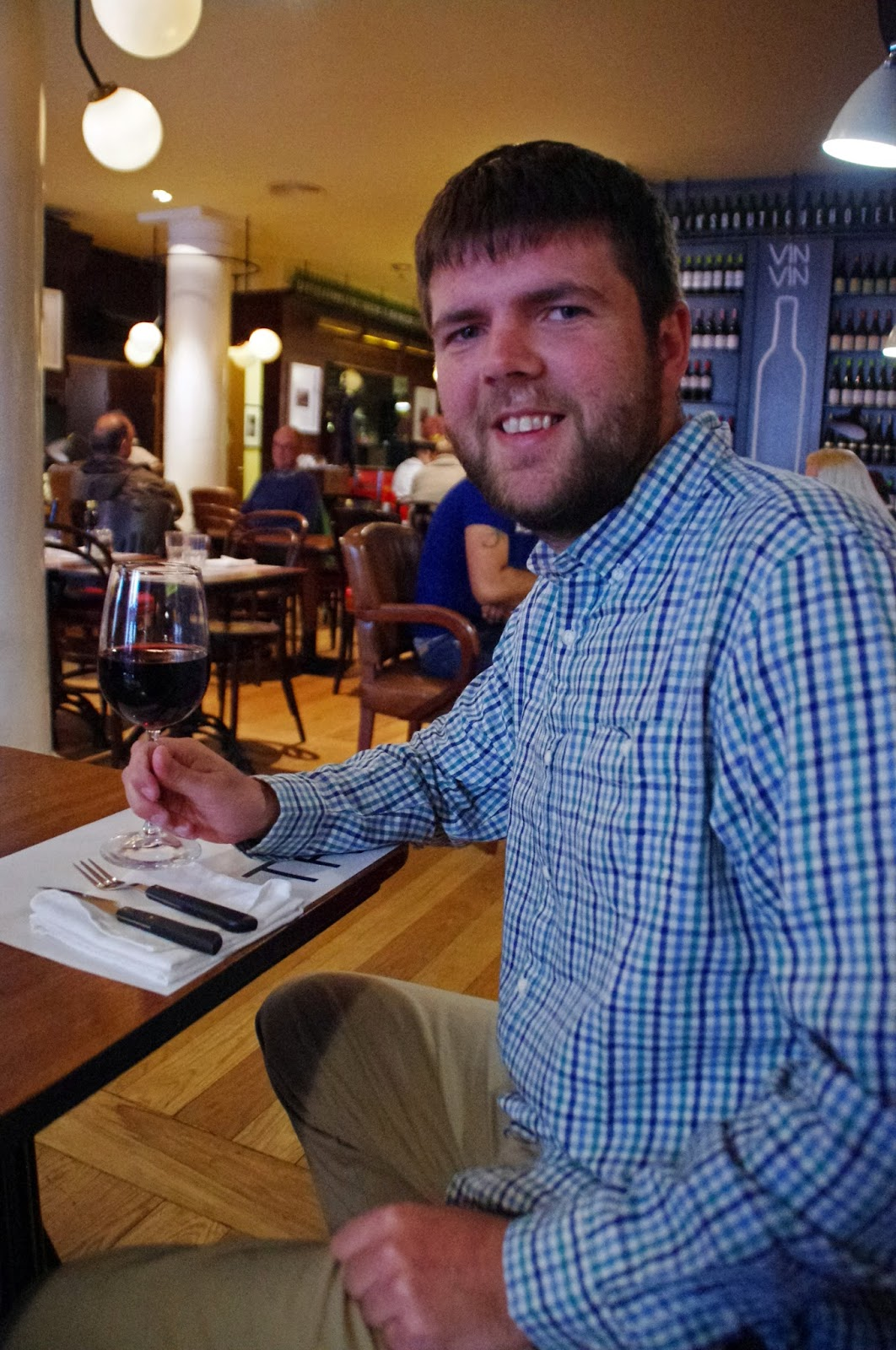 Dan at Brown's Central Hotel Lisbon Bistro