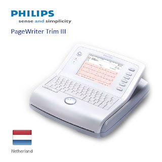 EKG/ECG 12 Channel Philips PageWriter Trim III Cardiograph | EKG/ECG