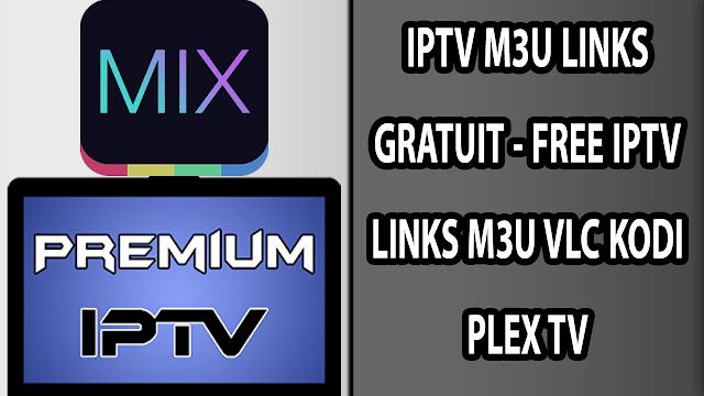 IPTV LINKS GRATUIT-FREE IPTV M3U SmartPhone/PC 25/01/2019